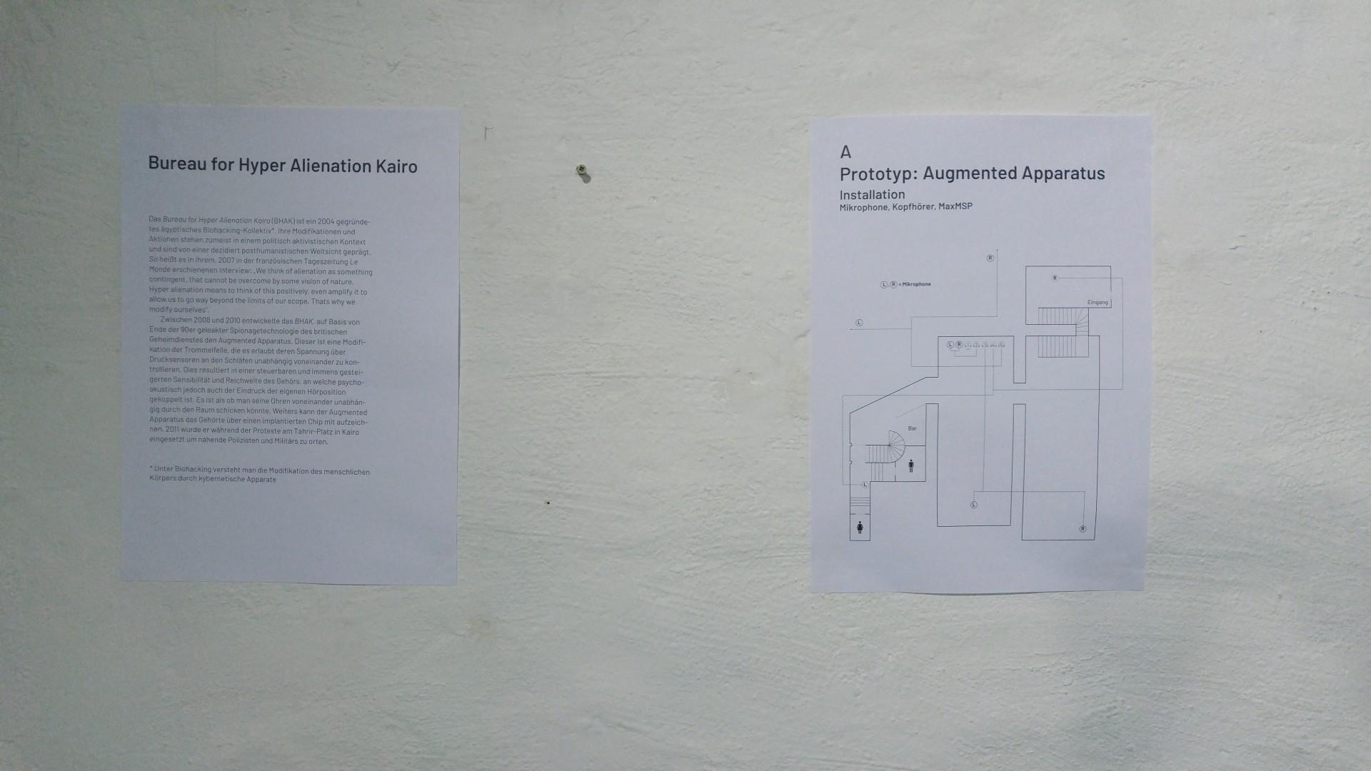 PERSPEKTIVENBOX Prototyp: Augmented Apparatus